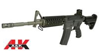 A&K Metal PTW M4A1 Tactical Carbine AEG (M110, Black)