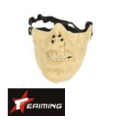 EAIMING Half Face Mask (TAN)