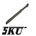 5KU 16Inch Outer Barrel for M4 AEG (Carbine Length, CCW)