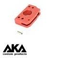 AKA Aluminum Trigger Type D for Marui Hicapa (RED/Short)