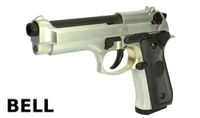 BELL Metal M9 GBB Pistol New Version (726, Silver)