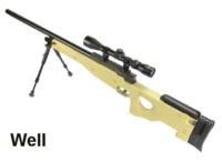 WELL ABS L96 MB-01C 3-9x40 Scope Bolt Action Sniper Rifle (TAN)
