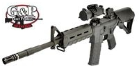 G&P Metal Canada C8FTHB Carbine AEG PTS Version (Black)