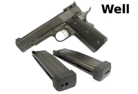 WELL Double-stack 1911 CO2/GAS GBB Pistol - 2MagVersion