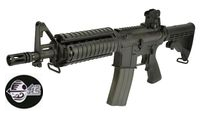 Jing Gong M4 CQBR Assault Rifle GBB (Black)