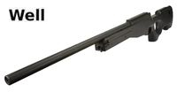 WELL MB01 G21 Type 96 Gas Bolt action Sniper Rifle (Black)