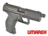 UMAREX Walther Metal Slide PPQ M2 GBB Pisol with Silencer(Black)