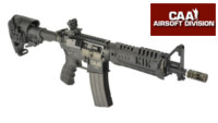 CAA Airsoft Division Metal Body M4 CQBR GBB (Black)