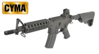 CYMA M4 CQB AEG Rifle (CM002, Black)