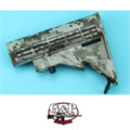 G&P 6 Position Buttstock for Marui GBB M4A1 (Digital Desert)