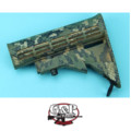 G&P 6 Position Buttstock for Marui GBB M4A1 (Grid Jungle Pixel)