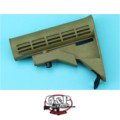 G&P 6 Position Buttstock for Marui GBB M4A1 (Sand)