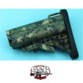 G&P Mod Buttstock for Marui GBB M4A1 (Grid Jungle Pixel)