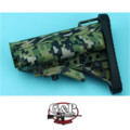 G&P Mod Buttstock for Marui GBB M4A1 (Jungle Pixel)