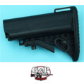 G&P Crane Buttstock for Marui GBB M4A1 (Black)