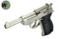 WE Long Outer Barrel P38 GBB Pistol (Silver)