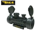 BSA 1x42 Scope Red/Green/Blue Dot Sight with 3 Rail