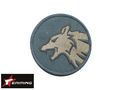 EAIMING TIMBER WOLF Embroidery Velcro Patch