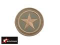 EAIMING TAN STAR Embroidery Velcro Patch