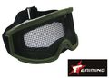 EAIMING Airsoft Protect Tactical Metal Reticular goggle -OD