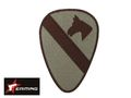 EAIMING HORSE Embroidery Patch BROWN