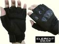 ELEMENT GEAR SI Assault Half Gloves - Black