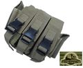 FISHERMEN Triple All Pistol Magazine Belt Pouches Bag -CB