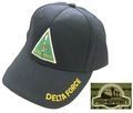 FISHERMEN DELTA FORCE Embroidery Cap - BK