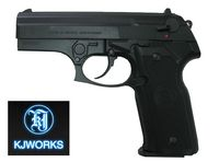KJ WORKS M8000 GBB Pistol Black