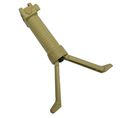 Tactical Spring Eject Bipod RIS Fore grip -TAN