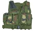 Black Hawk Down Omega HSV Assault Vest Holster -Woodland