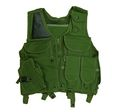 US Army Assault Tactical Vest with Holster (OD)