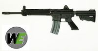 WE Type 91 T-91 blow back Gas Airsoft Rifle - BK