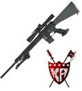 "King Arms 24"" Free Float Heavy Barrel Sniper Rifle"