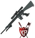 "King Arms 20"" Free Float Heavy Barrel Sniper Rifle"