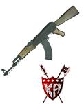 King Arms AK47 Wood Version