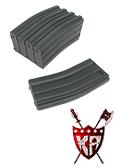 King Arms M16 120 rounds Magazines Box Set (5pcs) - BK