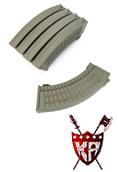 King Arms AK 110 rds Polish Type Magazines Box Set (5pcs) - DE
