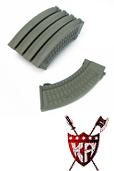 King Arms AK 110 rds Polish Type Magazines Box Set (5pcs) - OD