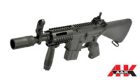 A&K Fixed stock M4 CQB AEG Rifle (Black)