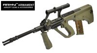 ARMY AUG Carbine AEG with 3X Scope (R903, Olive Drab)