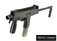 Army MP9A1 SubMachine Gun AEG SMG (Black)