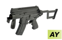 AY M4 Tactical Pistol SD AEG with folding stock (Black)