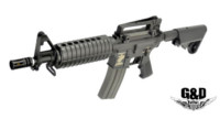 G&D DTW M4A1 CQB AEG Rifle (Black)