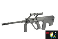GHK AUG-A2 Bullpup Rifle GBB (Black)