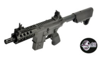 Jing Gong Crane Stock M4 CQB AEG Rifle (Black)
