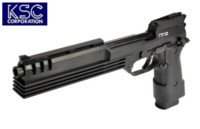 KSC M93R Auto-9 C Robocop Japan Version GBB Pistol (Black)