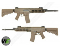WE Musoken MSK Telescopic Stock GBB Rifle (Tan)