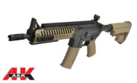 A&K CASE Crane Stock short version M4 AEG (Dark Earth)