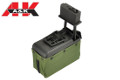A&K 1500 Rounds Sound Control Mini Ammo Box For M249 AEG (RG)